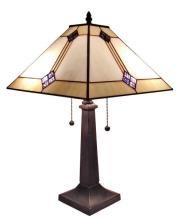 TIFFANY STYLE MISSION DESIGN TABLE LAMP 21 IN #99499v2