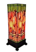 TIFFANY STYLE 18-INCH DRAGONFLY TABLE LAMP #99501v2