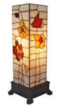 TIFFANY-STYLE POPPIES TABLE LAMP 18 IN #99500v2