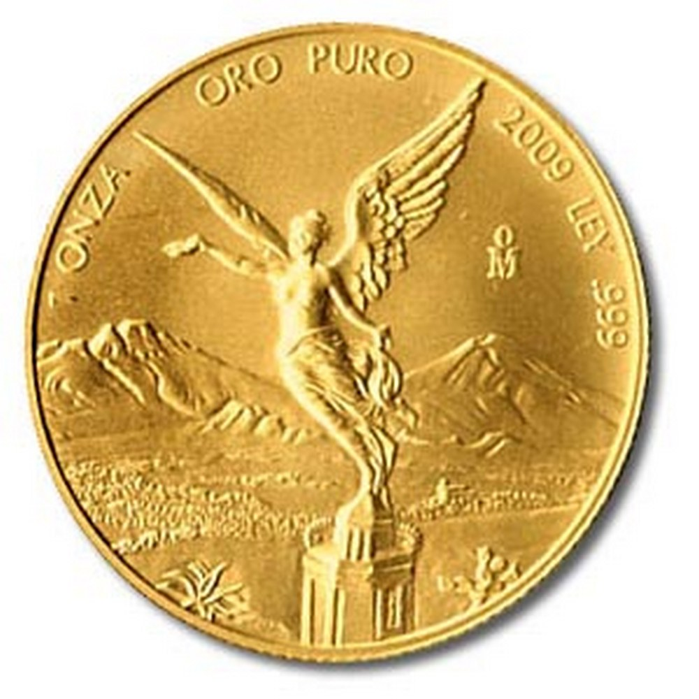 Mexico Gold Libertad One Ounce 2009 #PAPPS95669