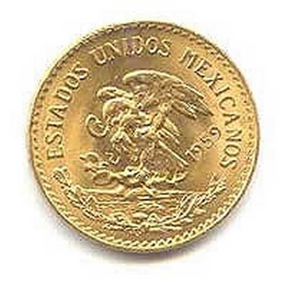 Mexico 20 Pesos Gold Coin #PAPPS95666