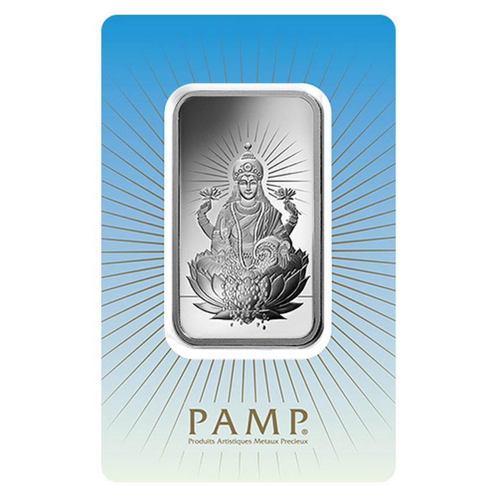PAMP Suisse Silver Bar 1 oz - Lakshmi #PAPPS49181