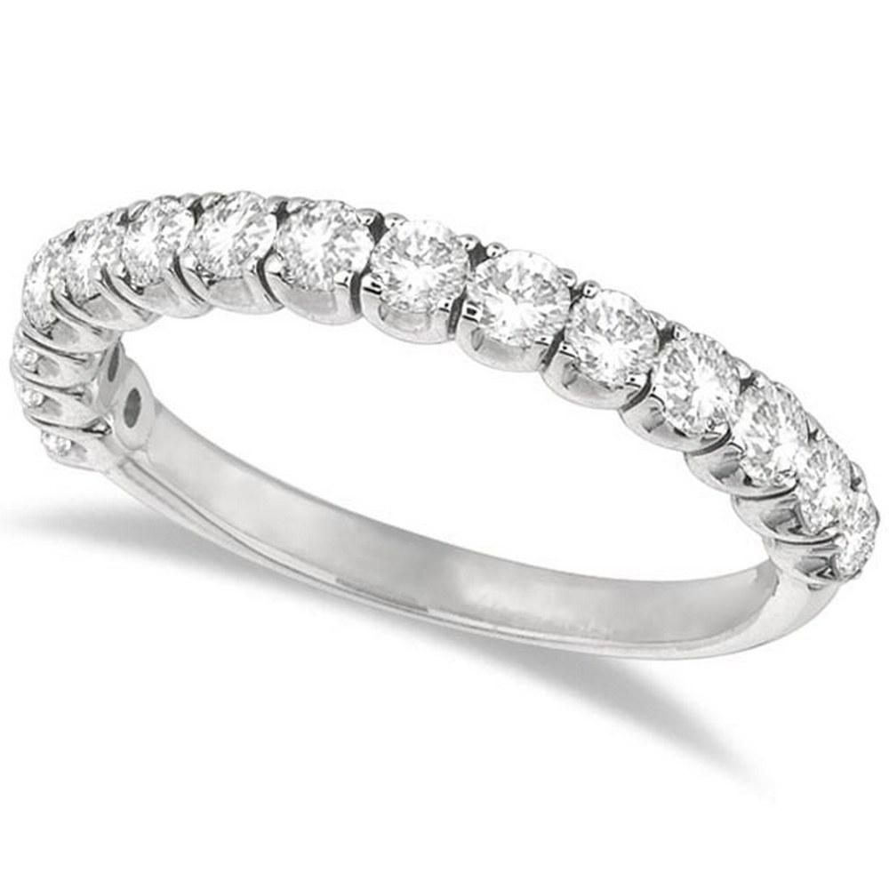 Diamond Wedding Band Anniversary Ring in 14k White Gold (1.00ct) #PAPPS20785