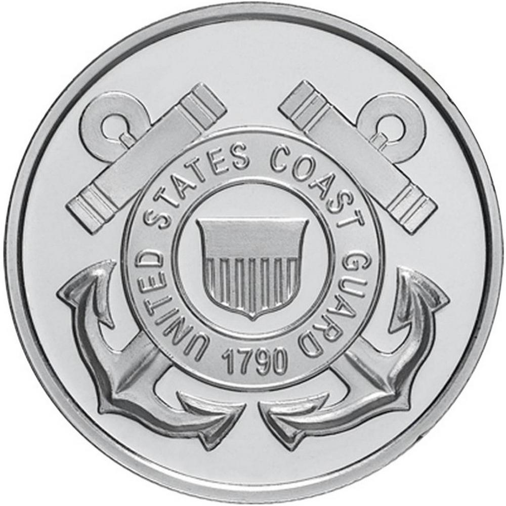 US Coast Guard .999 Silver 1 oz Round #PAPPS49225