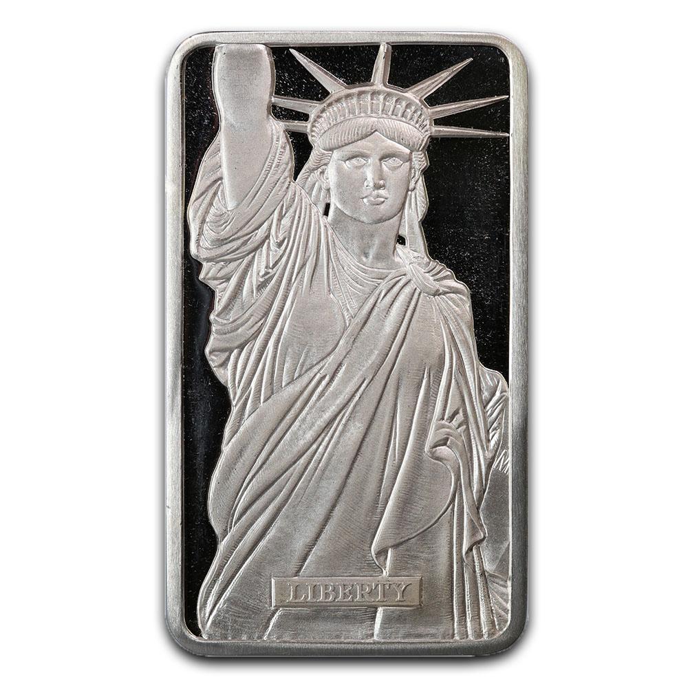 Metals Arts Mint 10 oz Bar - Statue of Liberty MTB Series 1 #PAPPS49199