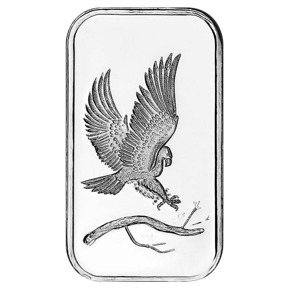 SilverTowne 1 oz Silver Bar - Eagle Design #PAPPS49264