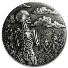 1 oz Silver Round Virgo - Zodiac Series #74593v3