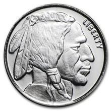 1/4 oz Silver Round - Buffalo #74474v3