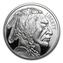 1 oz Silver Round - Buffalo (MintMark SI) #74463v3