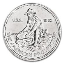 1 oz Silver Round - Engelhard Prospector (1982,