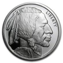 5 oz Silver Round - Buffalo #74520v3