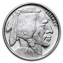 1/10 oz Silver Round - Buffalo #74469v3