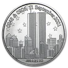 1 oz Silver Round - Forever In Our Heart 9/11 #74524v3