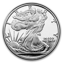 1/4 oz Silver Round - Walking Liberty #74472v3