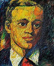 Gyula Szabó (Hungarian, 1907-1972), Portrait of a young man