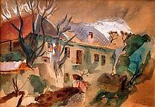 István Szőnyi (Hungarian, 1894-1960), Fall morning