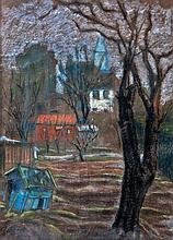 Béla Mészöly Munkás (Hungarian, 1889-1944), Park