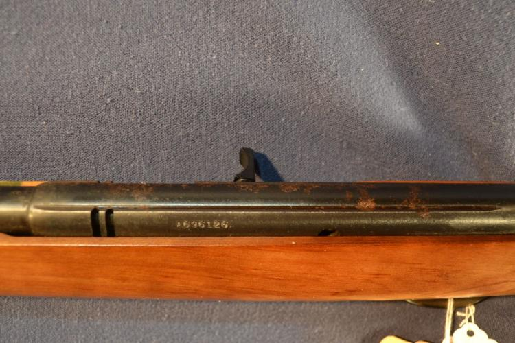 Savage Arms Springfield model 187S semi-auto 22cal rifle, 20