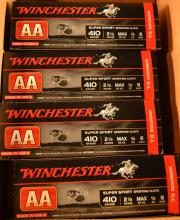 Ammo: Approx. 300 rounds Winchester AA 410ga.