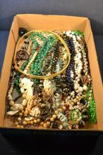 Collection of costume bead jewelry