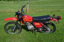 1980 Honda XL185S Enduro motorcycle, 5,790 miles, good  condition, starts and runs, clear title
