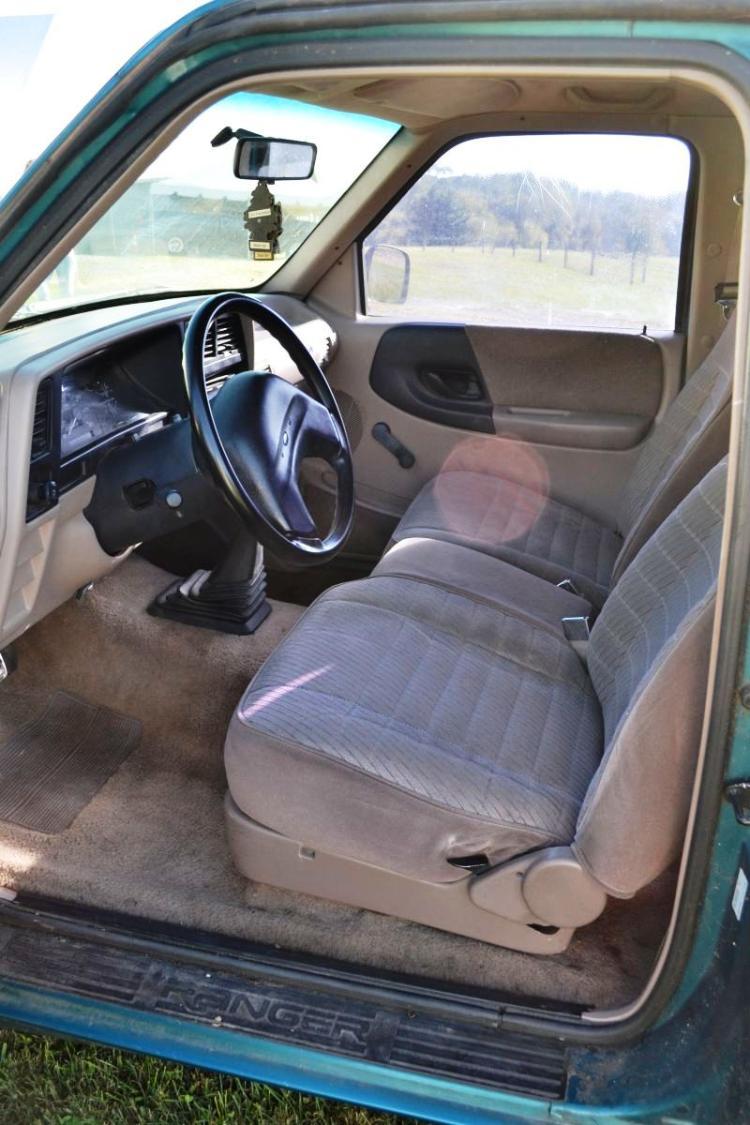 1994 ford ranger xl super cab 3 0l v6 5 speed man trans. Black Bedroom Furniture Sets. Home Design Ideas