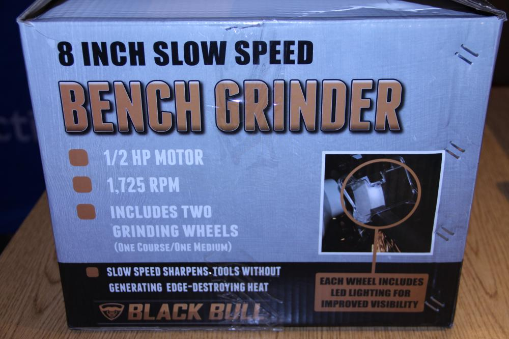 Groovy Black Bull 8 Slow Speed Bench Grinder Alphanode Cool Chair Designs And Ideas Alphanodeonline