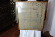 Early sampler 1813