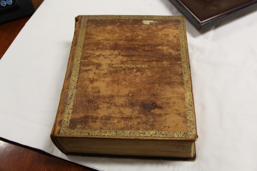 1839 Holy Bible old and new testament