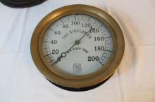 Beautiful Bigelow & Company steam gauge