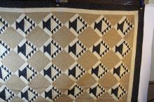 Beautiful large vintage quilt