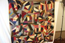 Nice vintage New England quilt