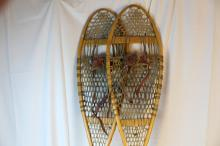 Nice pair of older snow shoes