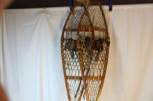 Antique snow shoes