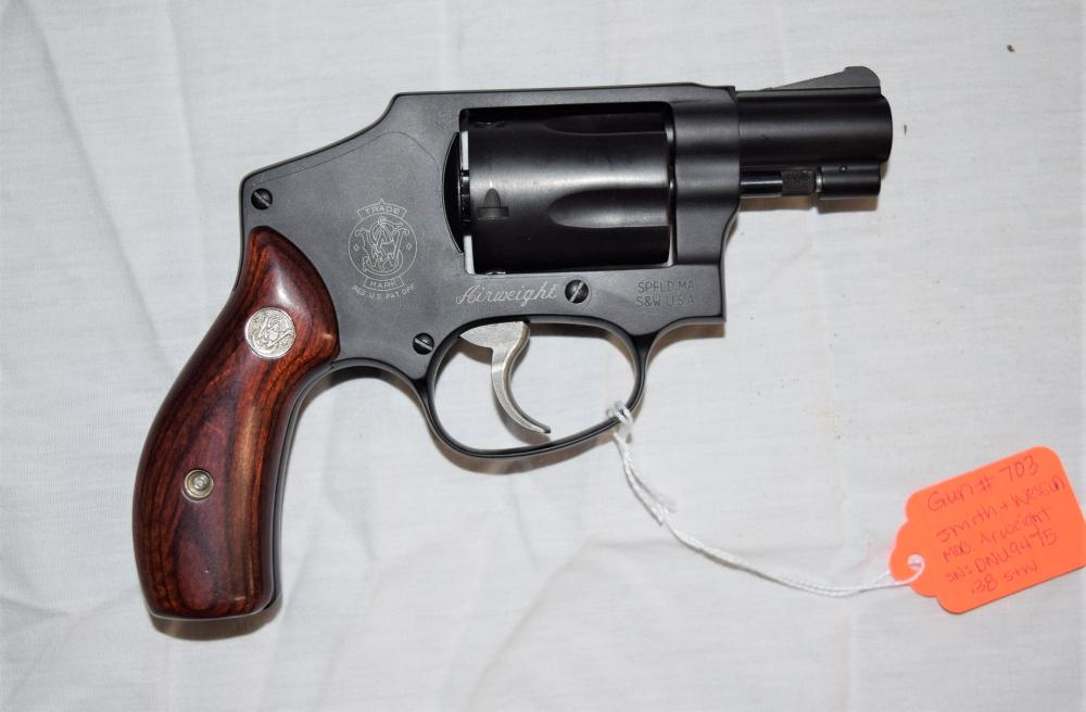 Smith & Wesson Airweight Revolver .38