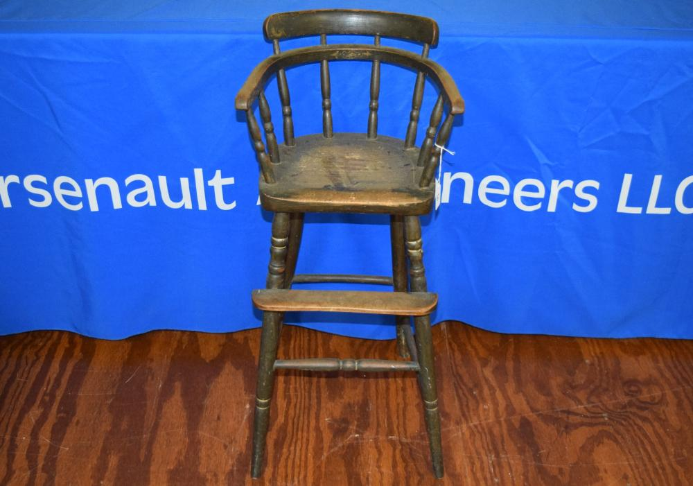 Early American Childs High Chair
