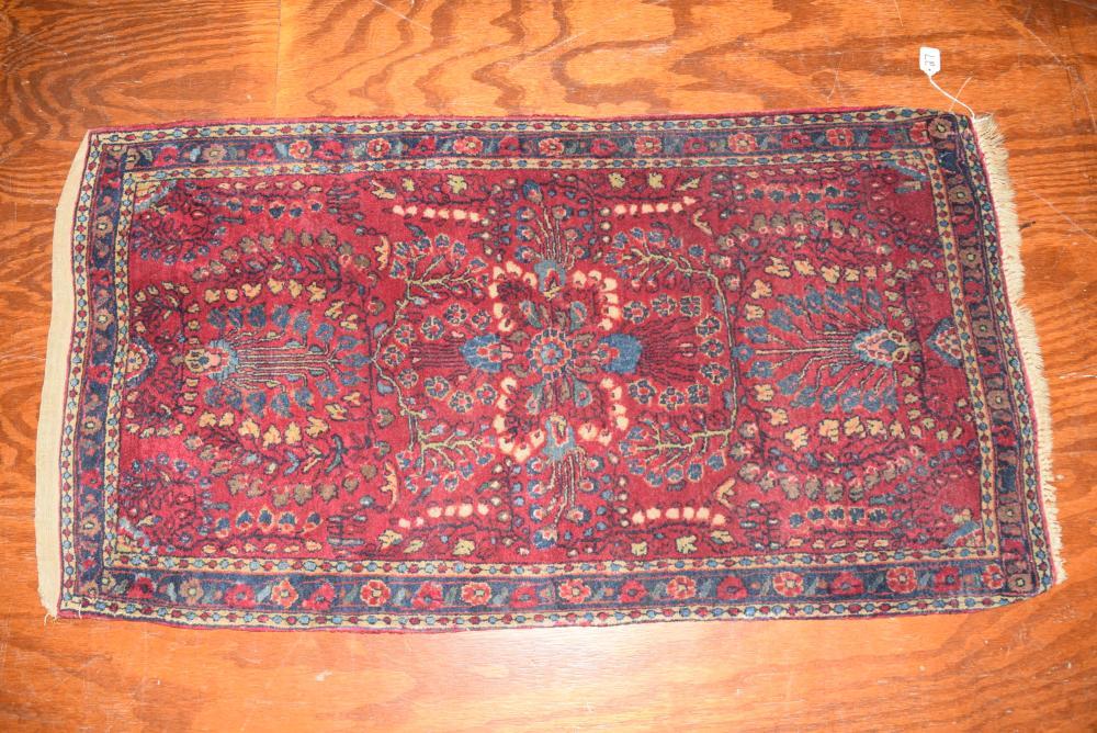 Antique Oriental Scatter Rug