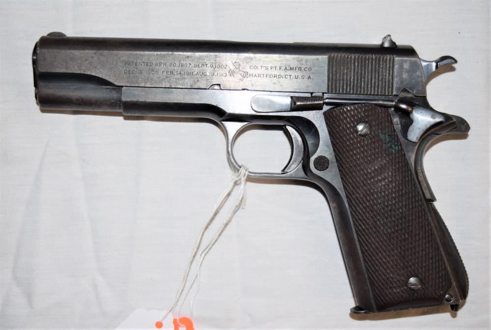 US Army Colt 1911 Pistol .45 w/extra Clips
