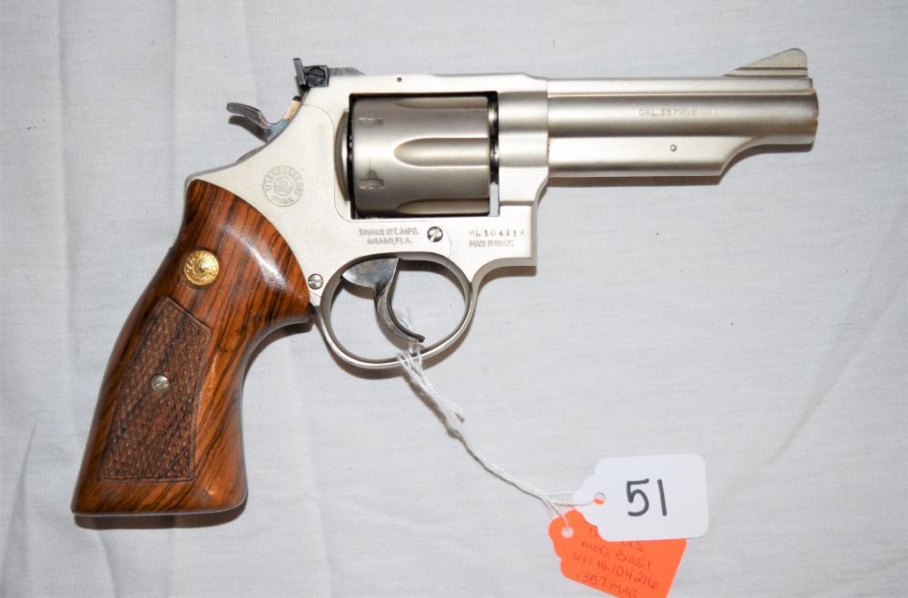 Taurus Brasil Revolver .357 MAG
