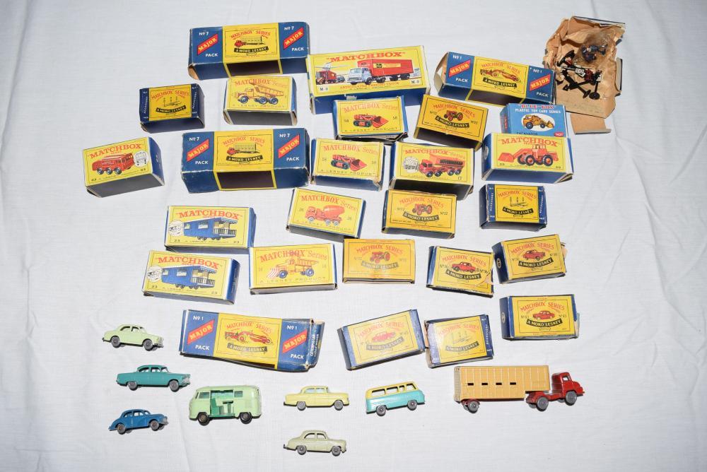 Vintage Matchbox Cars Lot