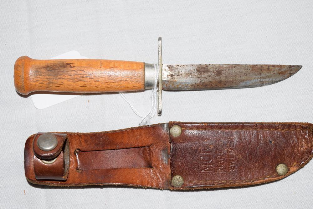 Vintage Mora made in Sweden Knife