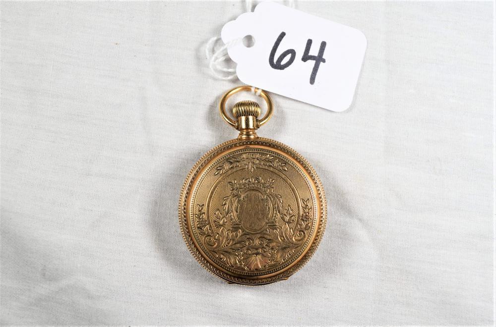 Vintage 14K Gold Elgin Pocket Watch