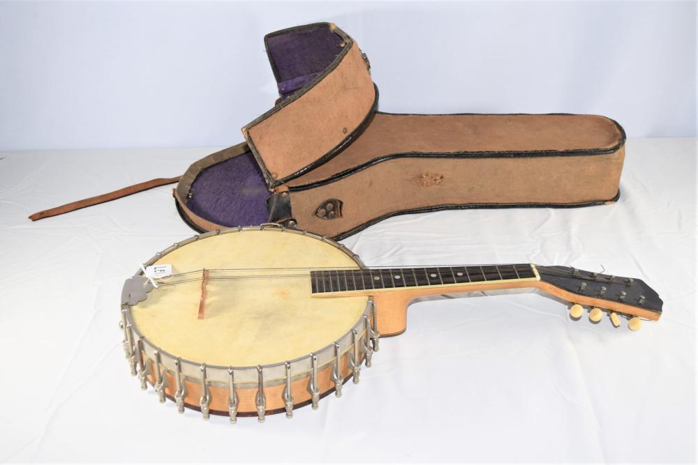 Vintage Fairbanks Banjo with Case