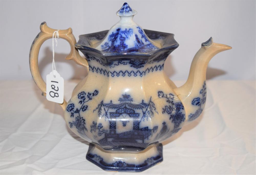 Vintage Oregon Chinese Porcelain Tea Pot