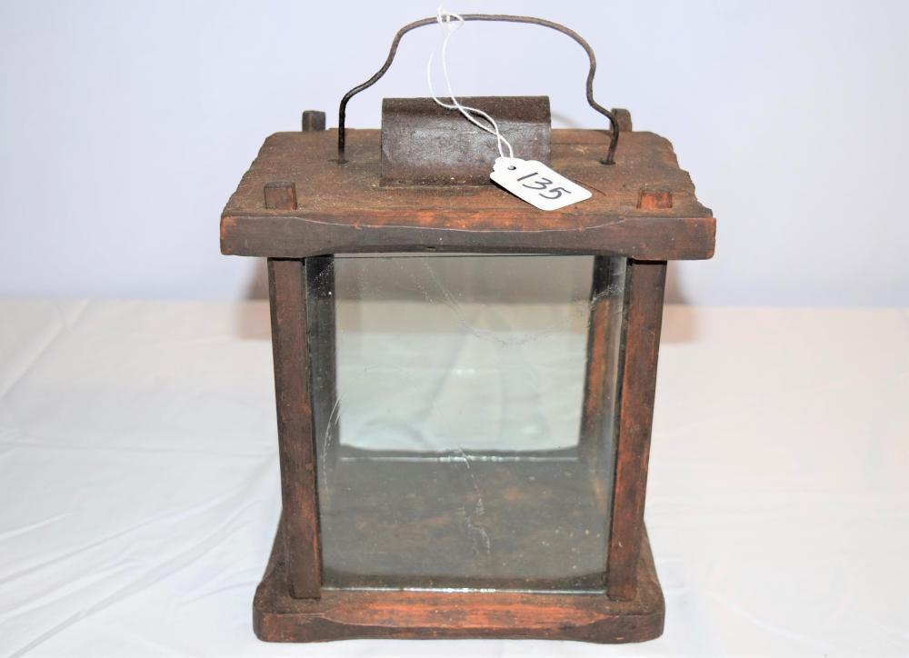 Antique Candle Lantern