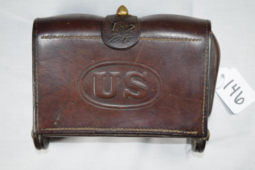 Vintage WWI United States Ammo Pouch