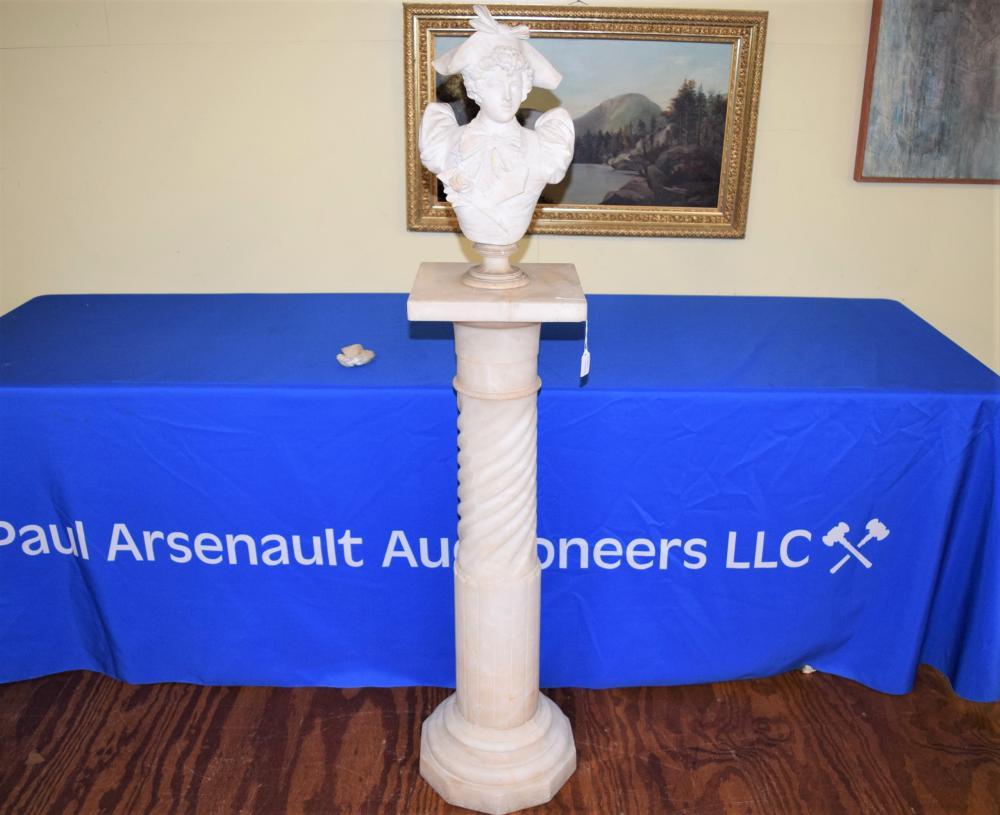 Victorian Marble Pedestal Stand