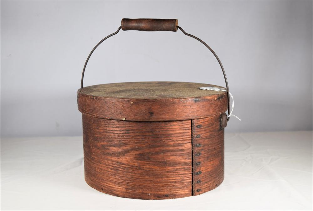 Vintage Pantry Box with Swing Handle