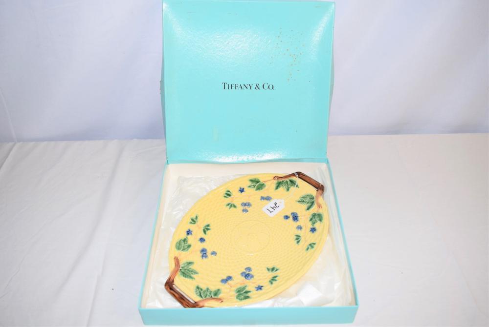 Vintage Tiffany & Co. Majolica Platter