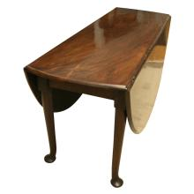 Large Queen Anne Red Walnut Dining Table Ca. 1740
